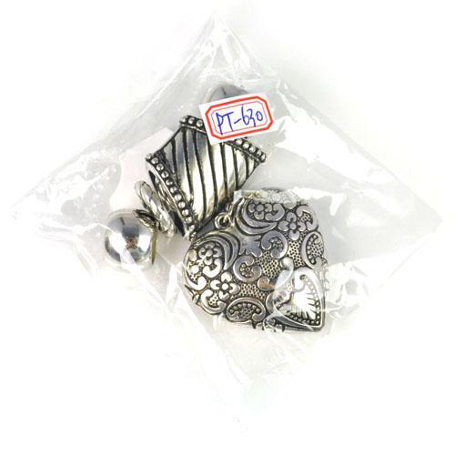 Schmuck Schal Anhänger Herzform Handmade DIY Zubehör Fit Schals Halskette. PT-630