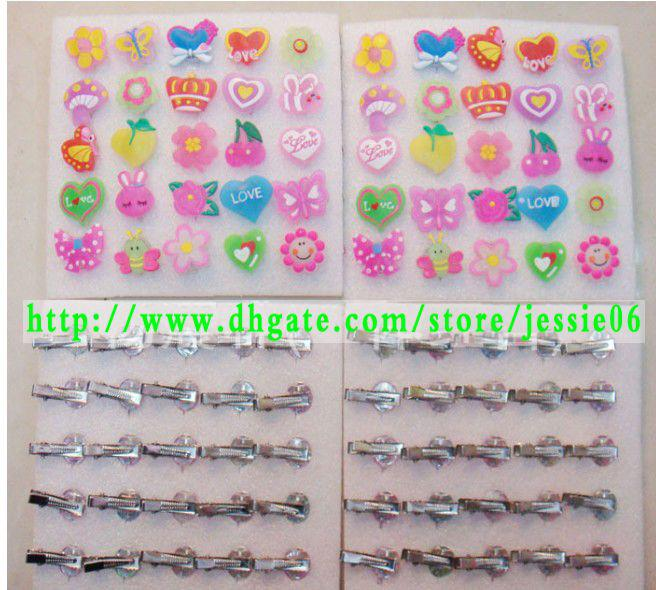 Fashion LED flash Magic Hair Clip Light-up HairClips change colors headband hairand brooch jewelry