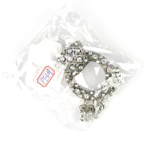 Top Großhandel Strass Charms Ohrringe Form Schmuck Schal Anhänger passen DIY Schal Halskette PT-629