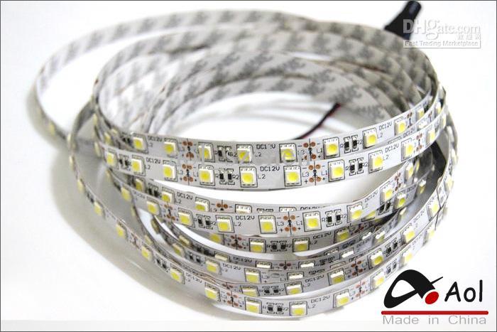 Caldo 5m 5050 SMD 300 LED striscia flessibile non-impermeabile Illuminazione di striscia LED nastro azzurro auto illuminazione casa della barra