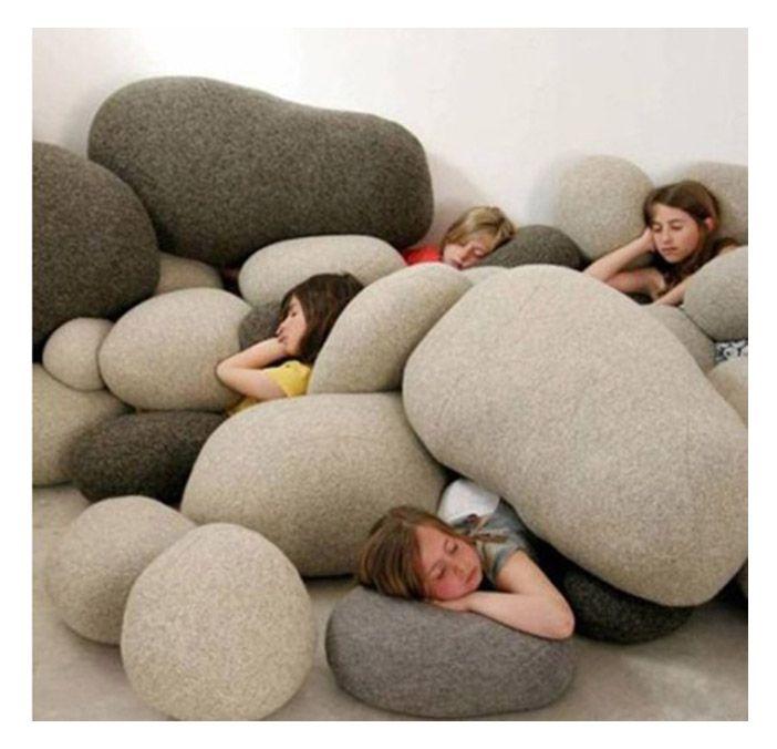 Home Stones Decoration: Best Home Decoration Living Stone Creative Sofa Decorative