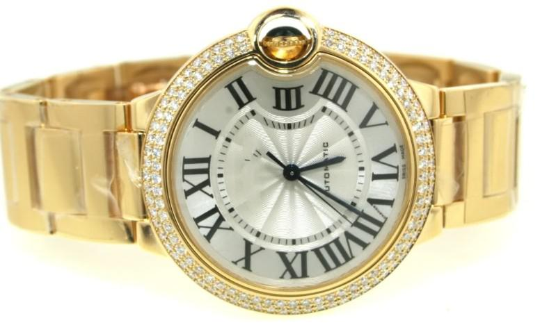 itm bling gold watch men rapper iced mens watches hip simulated s out tone pave diamond hop ebay techno