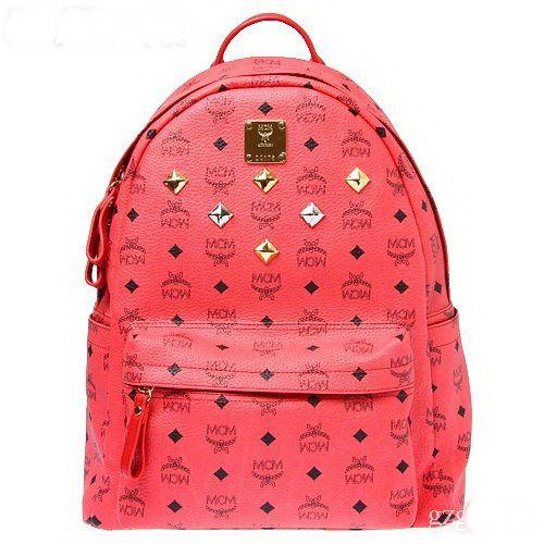 Red Popular Classical Mcm Backpack Shouder Bags Osprey Backpacks ...