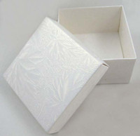 Wholesale DIY cardboard Folded Candy Box Party Favor Package x x cm white LWB0157B