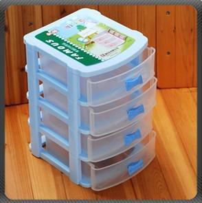 New 4 drawer Plastic storage system Organizer Cabinet & 2018 Hot Selling!! New 4 Drawer Plastic Storage System Organizer ...