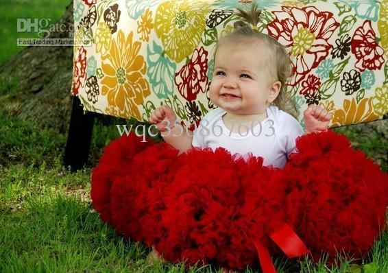 20 STÜCKE Nettes Baby Chiffon Pettiskirt TuTu Rock Kinder Prinzessin Röcke Kid's Dance Party Kleid