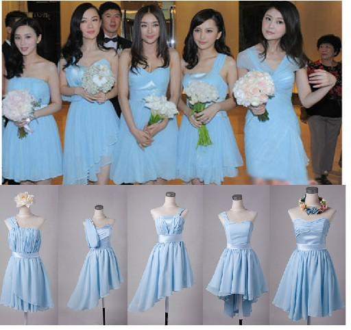Different Wedding Dress Styles: Custom Bridesmaid Dress Super Star Same Style Brand New 5