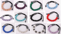 10mm Bracelet 11 ball Disco Ball CZ Crystal Clay balls bracelet