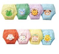Wholesale Girls Waterproof Potty Training Pants - Hot!100 Toddler Boys Girls Potty Training Pants Baby Waterproof Trainer potty underwear Infant pant