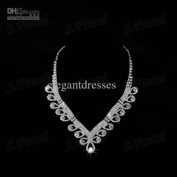 Atacado! New arrival lote pacote de orelha, coroa e colar de jóias de noiva de cristal de Áustria