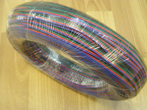 4-poliges Kabel für RGB 5050 3528 SMD-LED-Streifen, LED-RGB-Kabel Rot, Schwarz, Grün, Blau Verlängerungskabel