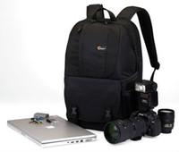 """Wholesale Lowepro Laptop Shoulder Bags - New Lowepro Fastpack 250 Backpack for DSLR &15.4"""" laptop --Black,100% Genuine Backpacks Bag"""