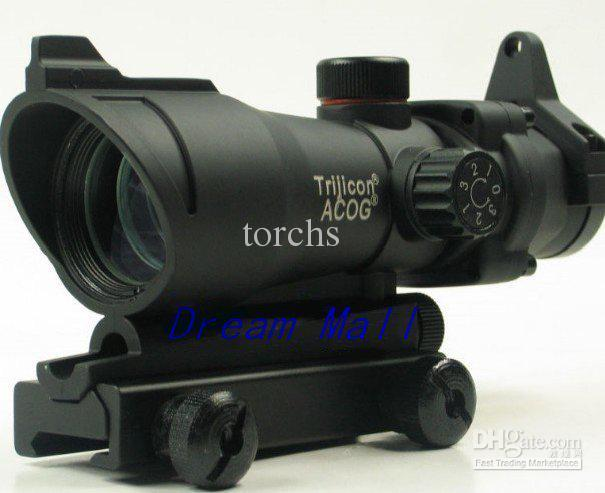 ACOG 1x32 vista telescópica Iluminado Red / Green Dot + Mounts