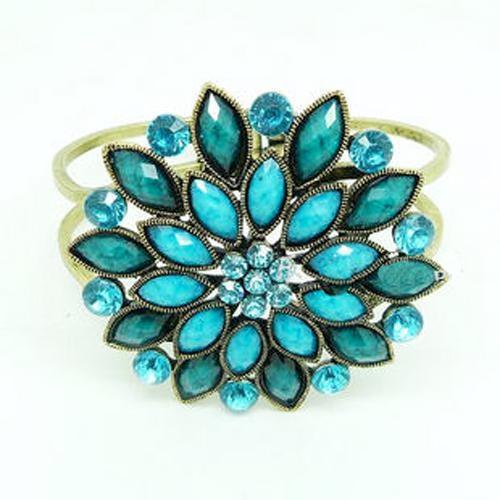 Bohemian Retro Flower Bracelets Full Of Precious Stones