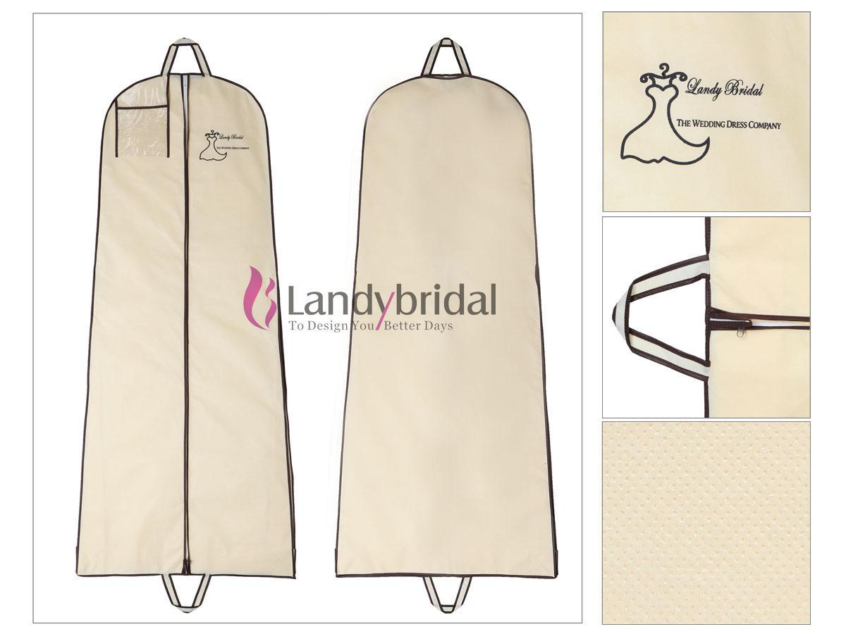 New Breathable Wedding Garment Bag Wedding Bridal Gown Prom Formal ...