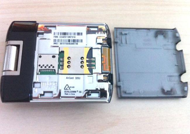 Envío gratis original desbloqueado Sierra Wireless LTE AirCard 320U 4G LTE soporte 1800/2600 MHz, puede b
