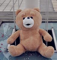 Wholesale 24 Ted - Teddy Bears Ted 60cm Plush Stuffed Heavy Taste Teddy Bears