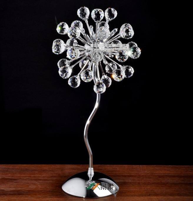 Moderno cristal de la lámpara minimalista sala de mesa de cabecera del dormitorio al por mayor y al por menor lámparas de cristal
