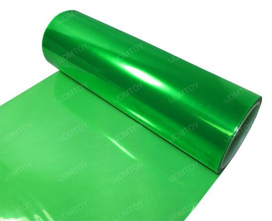30 cm * 10 m Color Verde Esmeralda Brillante Color Tinte Faros Antiniebla Luz Sidemarker Vinilo Película Auto Etiqueta Auto