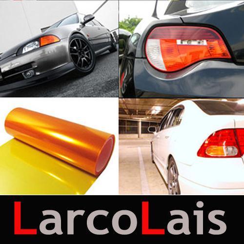 Embellecedores para faros de coche de color naranja