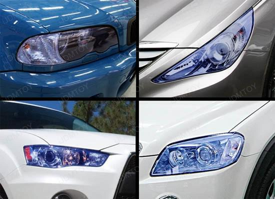30 cm * 10 m Xenón HID Color Azul Faros Faros Antiniebla Sidemarker Vinyl Film Auto Car Motor Sticker