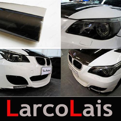 30 cm * 10 mt Glossy Light Black Farbe Tönung Scheinwerfer Nebelscheinwerfer Seitenmarker Vinyl Film Motor Auto Aufkleber