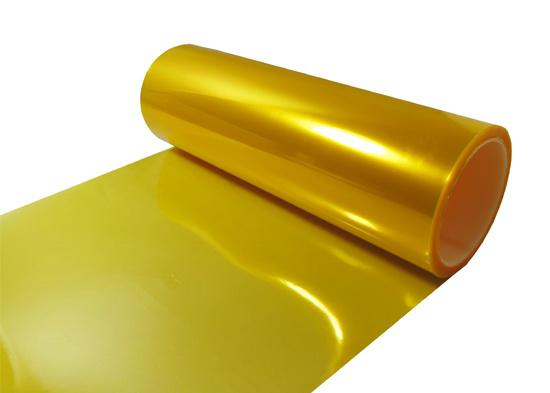 30 cm * 10 m Brilhante Amarelo Tint Faróis Faróis de Nevoeiro Sidemarker Vinyl Film Motor Etiqueta Do Carro