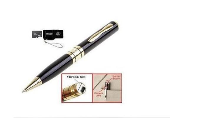عرض ساخن !! كاميرا القلم DVR جاسوس القلم كاميرا مع الصوت يصل إلى 32 جيجابايت