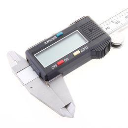 """Wholesale Digital Caliper Vernier Gauge Micrometer - 6"""" 150mm Electronic Digital Caliper Vernier Stainless Steel Gauge Micrometer with box H157"""