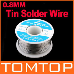 Wholesale Rosin Tin - 0.8mm 100g Tin Lead Melt Rosin Core Solder Soldering Wire Reel Free Shipping H8495