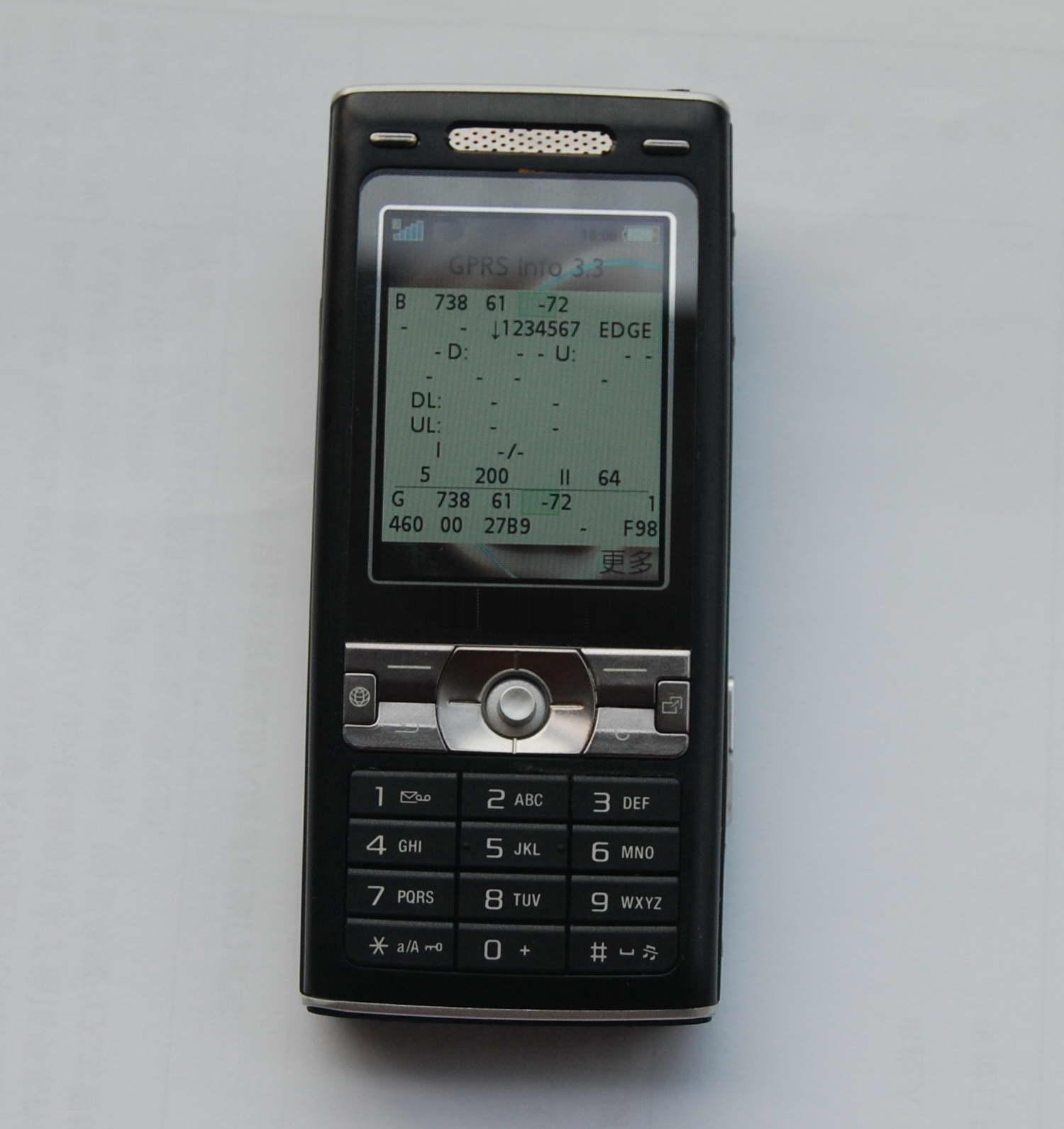 Atacado TEMS K790I teste do telefone móvel, o envio gratuito TEMS9.1 ou 8.0.3, suporte 2 G / EDGE teste