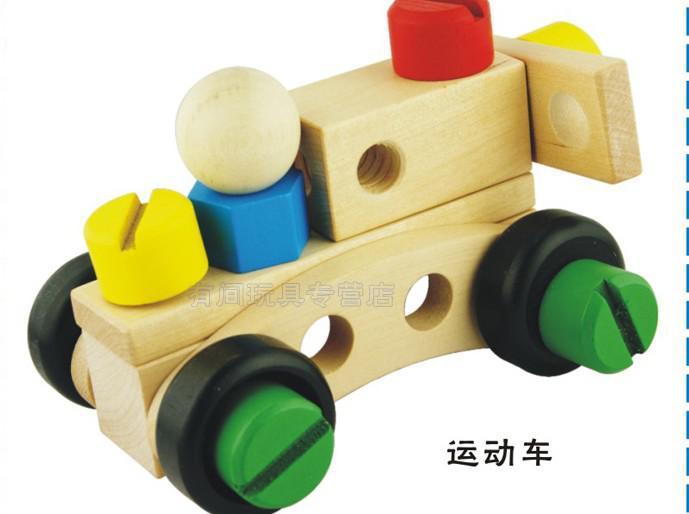 Candice guo! Juguete de madera educativo DIY de la venta caliente