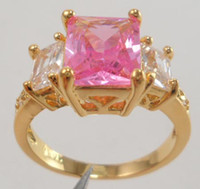 Wholesale Diopside Rings - Wholesale - lovers womens mens ring 2.68ct pink gemstone ring diopside rings solid 14k yellow gold