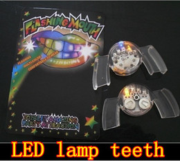 Wholesale Tooth Lamps - led teeth lights LED dental lamp ,flashing teeth light, free shipping