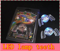 Wholesale Tooth Lamps - Newly Invented Party Fun the Light Emitting Diode LED Teeth Lamp Color Changing