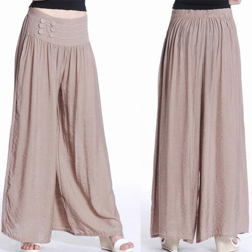 Wonderful Womens Casual Linen Pants - Pi Pants