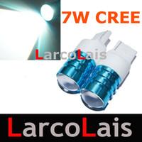 cree wedge bulb toptan satış-T20 3156 7440 Kama CREE Q5 Verici 7 W Led Ters back up Işık Lamba Ampuller