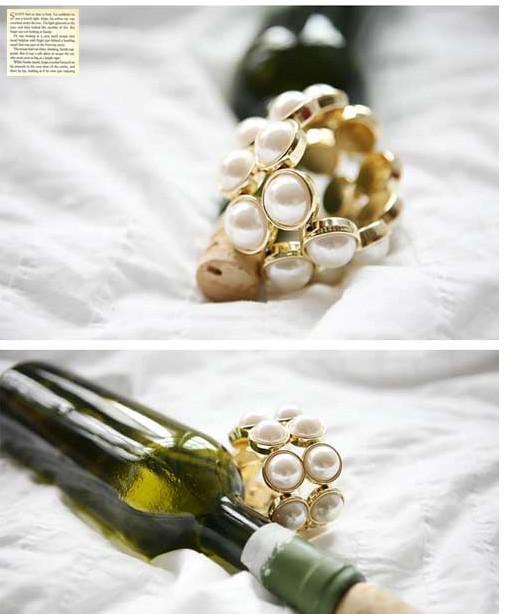 Doppelperlen Armbänder Phnom Penh Elegant Temperament Armbänder