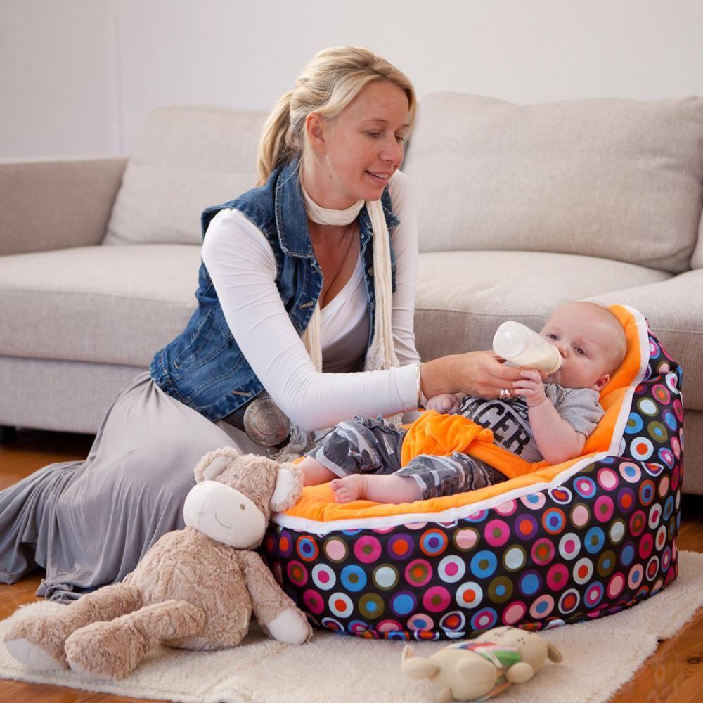 Baby bean bag chair - Lime Seat Baby Bean Bag Chair Butterfly Design Doomoo Beanbags Sofa Bed Kid Sleeping Pod
