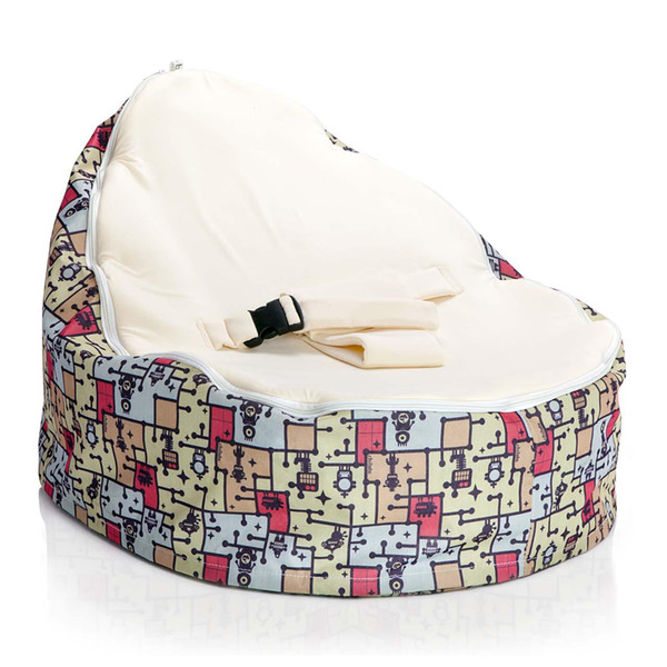 Superb 2019 Robopod Cream Baby Seat Baby Sleeping Bean Bag Bed Doomoo Baby Bean Bag Chair From Cowboy2012 18 81 Dhgate Com Machost Co Dining Chair Design Ideas Machostcouk