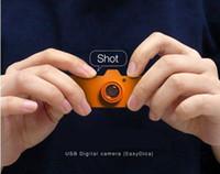 Wholesale Small Battery Usb - Smallest mini dv camera Aee Eazzzy Dica Eazzzy usb camera 720*480 AVI PC camera D017