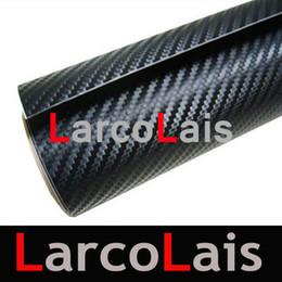 Wholesale Carbon Fiber Weave Vinyl - Black 1.52m*30m 12 Colors 3D Twill Weave Carbon Fiber Vinyl Wrap Film Self Adhesive PVC Car Sticker
