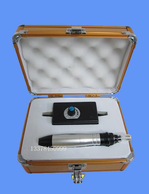 0,25 mm bis 2,0 mm Nadel einstellen elektrische Derma Roller Derma Pen mit 50 Stück Ersatz Nadel