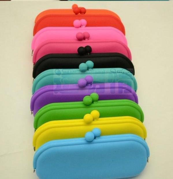 10ピースシリコーン財布電話パッケージメガネバッグ化粧品バッグクリスマスプレゼント