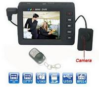 Wholesale Dvr Cam Kit - Mini DVR detect Kit Portable Spy video cam Hidden Button Camera with 2.5