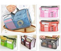 Wholesale Handbag Organiser Inserts - Women Travel Insert Handbag Organiser Purse Large liner Organizer Tidy Bag Pouch