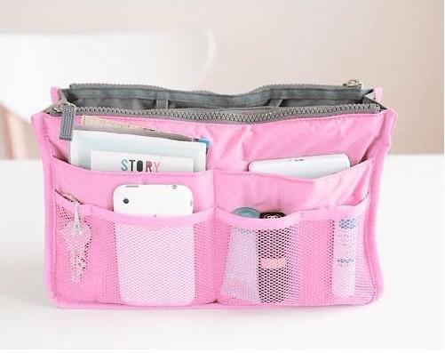 Frauen Reisen einfügen Handtasche Organizer Geldbörse großen Liner Organizer Tidy Tasche