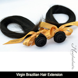"""Wholesale Brazilian Virgin 26 - High Quality 3 Or 3pcs lot Mocha Hair : Virgin Brazilian Hair Virgin Human Hair Straight Hair 12""""~26"""" In Natural Color"""