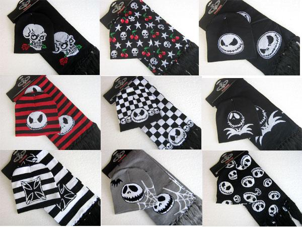 2017 Wholesale Nwt Unisex Hat + Scarf Nightmare Before Christmas ...