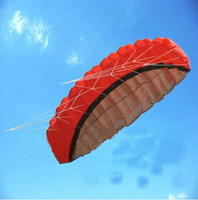 Wholesale Kite Stunt - HAVE VIDEO + 2.5m Dual Line Stunt kite ,Parachute Parafoil Sport Kite Power kite soft kite